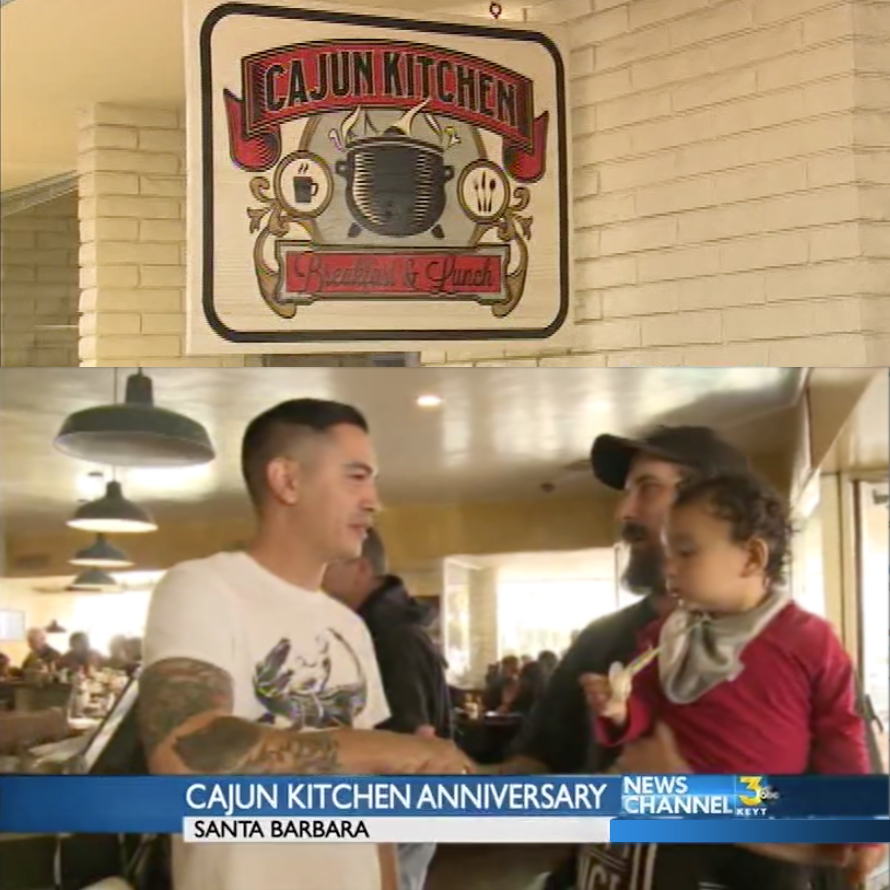 Cajun Kitchen Co-Owner Juan Jimenez