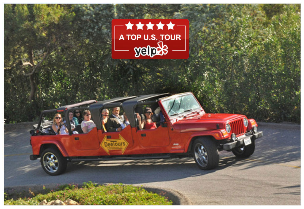 DeeTours Yelp Top US Tour