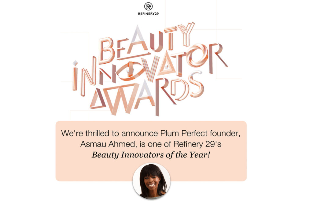 Refinery 29 Beauty Innovator Award