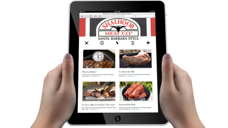 Shalhoob Meat Co. eCommerce Site